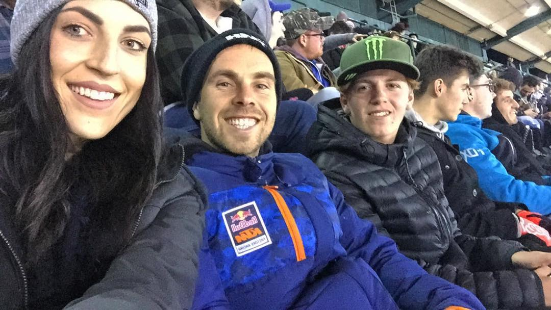 Dylan at A1 Supercross