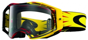 OAKLEY GOGGLE AIRBRAKE HIGH VOLTAGE RD/YEL