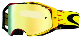 OAKLEY GOGGLE AIRBRAKE HIGH VOL RD/YEL 24K