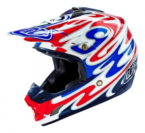 TROY LEE DESIGNS HELMET SE3 16 REFLECTION WHITE