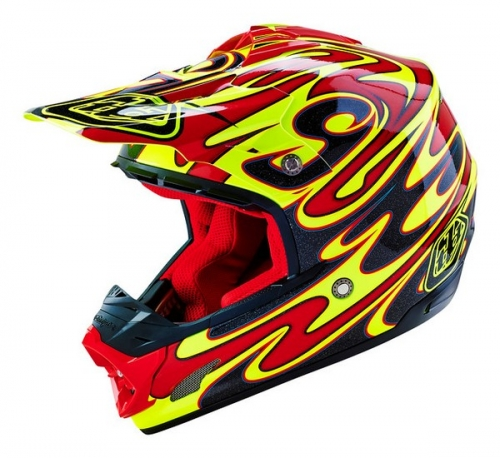 TROY LEE DESIGNS HELMET SE3 16 REFLECTION YELLOW
