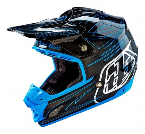 TROY LEE DESIGNS HELMET SE3 16 CARBON DOUBLESHOT