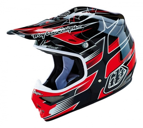 TROY LEE DESIGNS HELMET AIR 16 STARBREAK BLACK