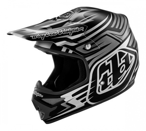 TROY LEE DESIGNS HELMET AIR 16 SCRATCH BLACK