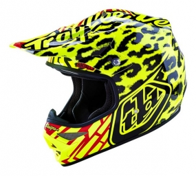 TROY LEE DESIGNS HELMET AIR 16 SKULLY YELLOW