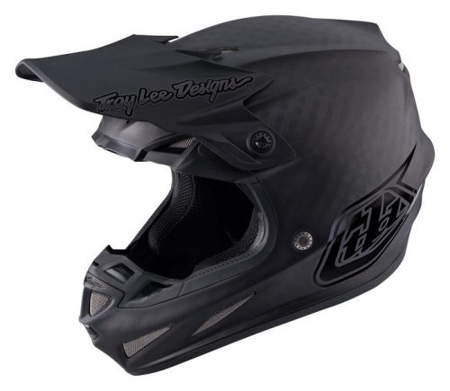 TROY LEE DESIGNS SE4 HELMET 2017 MIDNIGHT BLACK