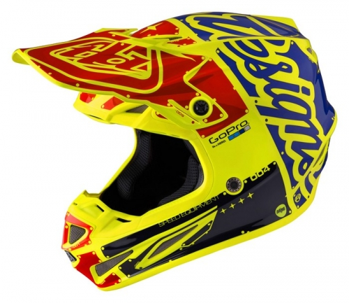 TROY LEE DESIGNS SE4 HELMET 2017 FACTORY YELLOW