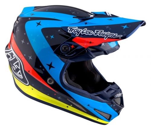 TROY LEE DESIGNS SE4 HELMET 2017 TWILIGHT NAVY