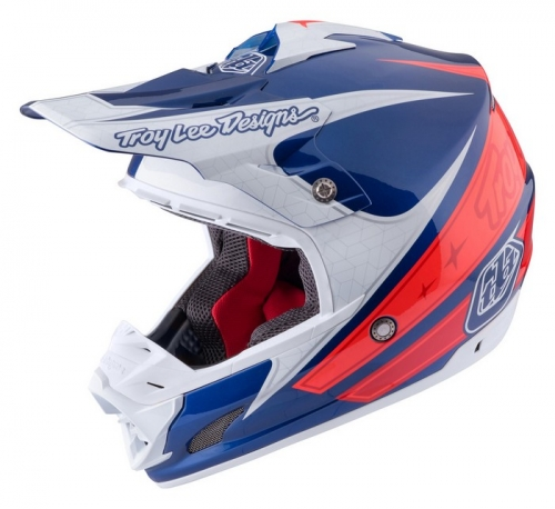 TROY LEE DESIGNS SE3 HELMET 2017 CORSE 2 NAVY