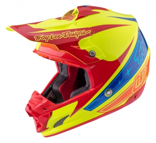 TROY LEE DESIGNS SE3 HELMET 2017 CORSE 2 YELLOW