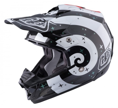 TROY LEE DESIGNS SE3 HELMET 2017 PHANTOM WHITE