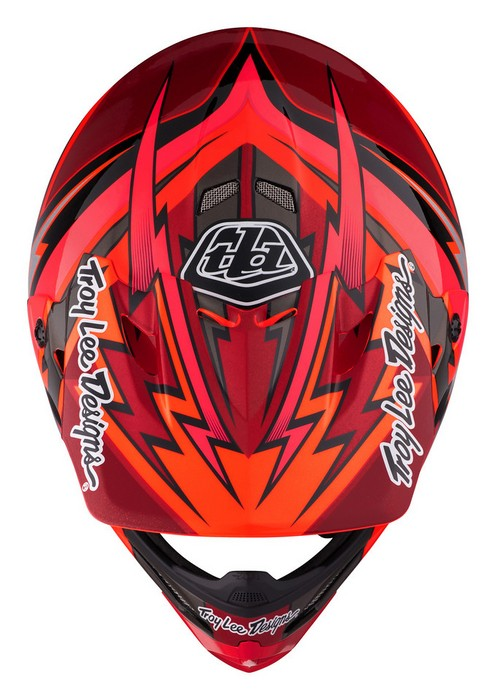TROY LEE DESIGNS AIR HELMET 2017 BEAMS RED