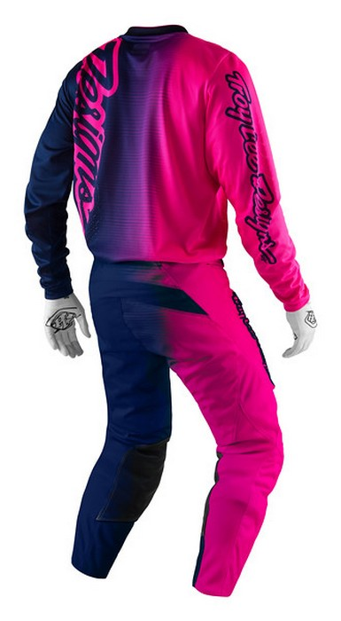 X-Large Troy Lee Designs Jersey GP 50//50 Pink Youth