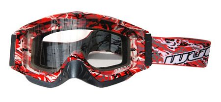 WulfSport Abstract Goggles - Red