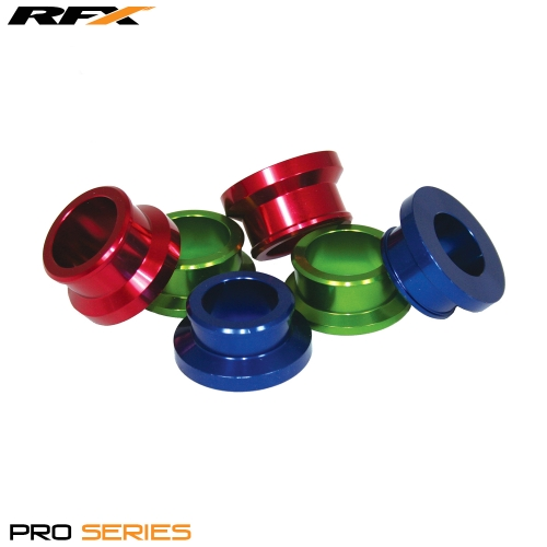 RFX Pro Wheel Spacers Front (Blue) Yamaha YZ125/250 08-13 YZF250