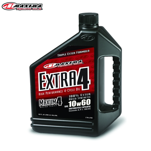 Maxima 4T Extra 4 100% Ester Synthetic (SAE 10w60) 3.65 Litre (