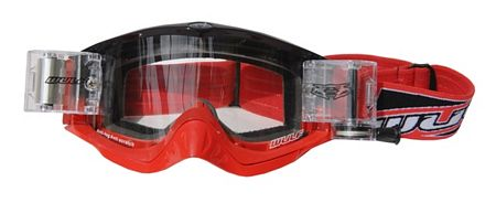 WulfSport Shade RacerPack Goggles - Red