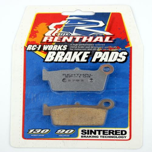 RENTHAL BRAKE PAD FRONT RM85 05-ON, KX80/85 97-ON