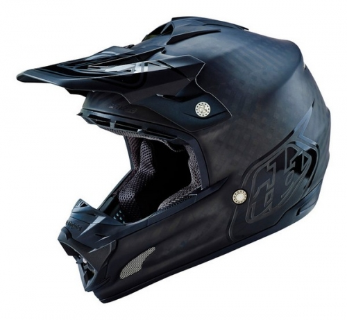 TROY LEE DESIGNS HELMET SE3 16 CARBON MIDNIGHT