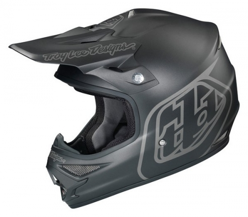 TROY LEE DESIGNS HELMET AIR 16 MIDNIGHT BLACK