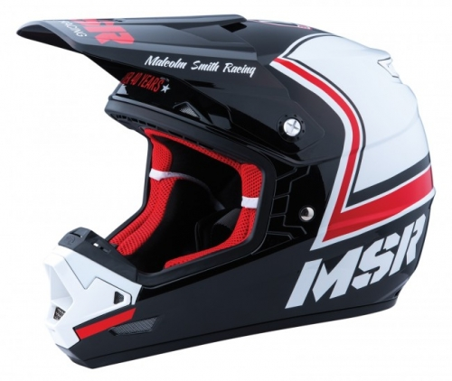 MSR HELMET MAV 3 LEGEND 71 2016 BLACK/WHITE/RED