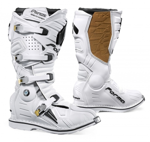 FORMA BOOT DOMINATOR TX WHITE