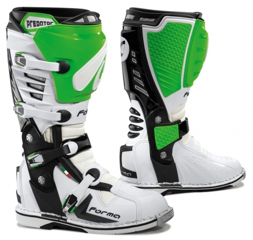 FORMA BOOT PREDATOR WHITE/GREEN