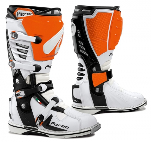 FORMA BOOT PREDATOR WHITE/ORANGE