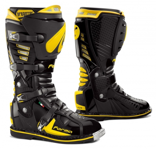FORMA BOOT PREDATOR BLACK/YELLOW