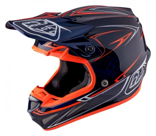 TROY LEE DESIGNS SE4 HELMET 2017 PINSTRIPE NAVY