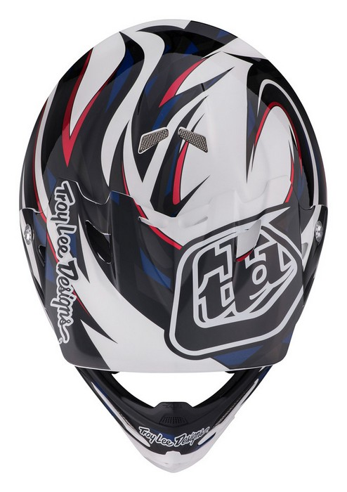 TROY LEE DESIGNS AIR HELMET 2017 VORTEX WHITE